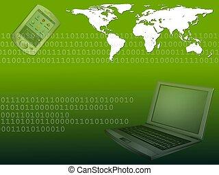 mobile computing world green