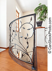 Classy house - Banister - Classy house - Elegant, metal and...