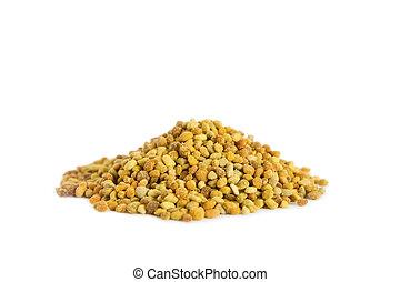 Raw Organic Bee Pollen - A pile of bee pollen Bee Pollen is...