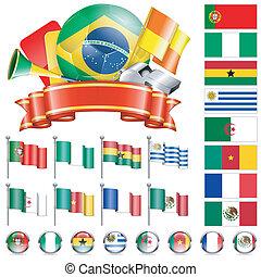 Soccer Championship - Soccer World Championship 2014 Brazil...