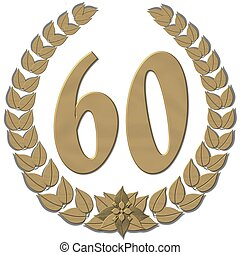 laurel wreath 60