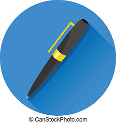 Vector Pen Icon