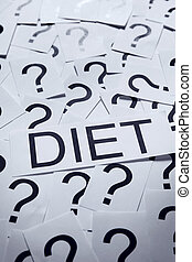 Starting on a Diet? - Start dieting? Many question marks on...
