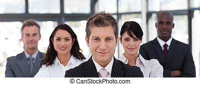 Portrait of a confident business leader - Portrait of a...