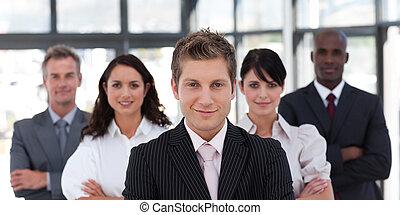 Portrait of a confident business leader - Portrait of a...