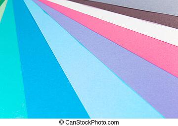 carta, colorito