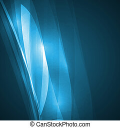 Abstract blue illustration, technology background