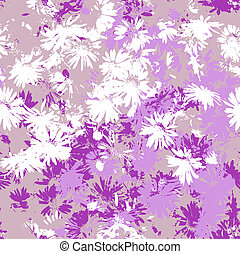 Seamless flowers - Seamless texture with flowers