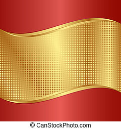 gold background - red and gold background