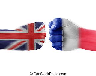 england x france