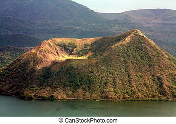 Taal Volcano PH-1179 - Taal Volcano is a stratovolcano on...
