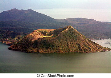 Taal Volcano PH-1181 - Taal Volcano is a stratovolcano on...
