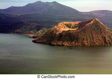 Taal Volcano PH-1182 - Taal Volcano is a stratovolcano on...