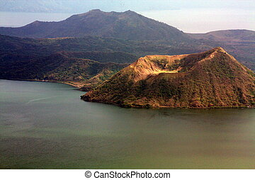 Taal Volcano PH-1183 - Taal Volcano is a stratovolcano on...