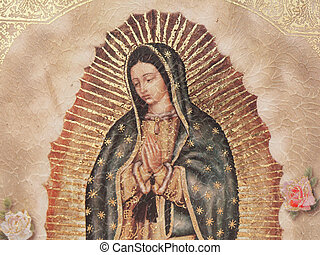 Our Lady of Gualalupe  - A painting of Our Lady of Gualalupe