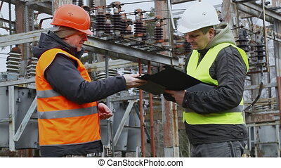 Electrical Engineer in the electric substation episode 9