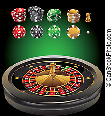 roulette casino elements