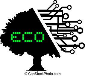 Eco tree - Creative design of eco tree