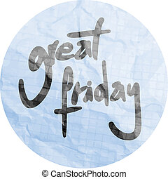Grest friday - Creative design of Grest friday
