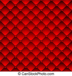 Red upholstery leather