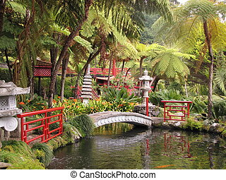 Lovely park on the island of Madeira - Monte Palace Tropical...