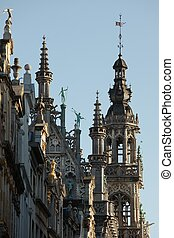Brussels - Architectural detail at Brussels main square