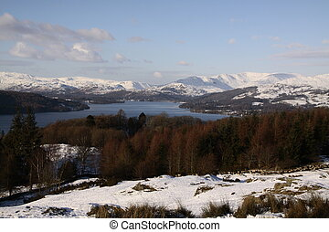 Lake Windermere in the winter