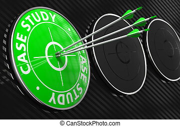 Case Study - Green Target - Case Study Three Arrows Hitting...