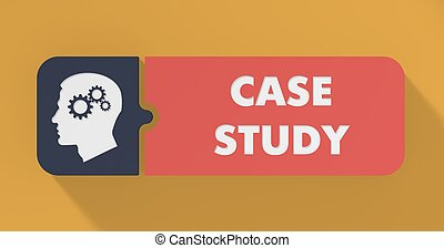 Case Study Concept in Flat Design - Case Study Concept in...