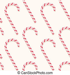 candy cane pattern - sweet holiday vector candy cane...