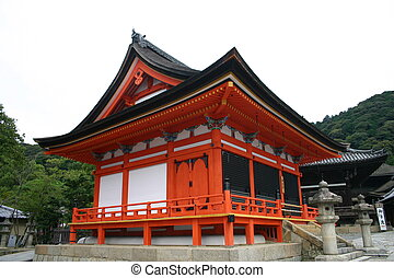 Temple in Kyoto - Adjacent temple at the Kiyomizu-dera...