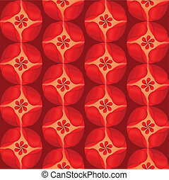 red flowers background petal