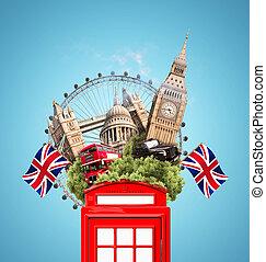 colagem, Londres