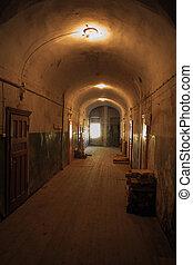 Valaam monastery Interior Corridor - Valaam monastery...