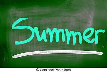 estate, concetto