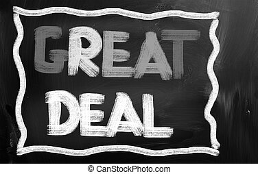 Great Deal Concept