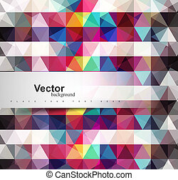 Seamless pattern texture Mosaic geometry colorful vector...
