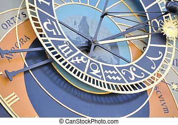 Astronomical clock - the astronomical clock in prague, czech...