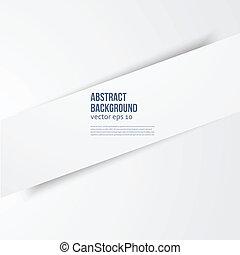 Vector  white banner line