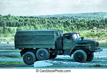 Military truck - Military Truck Ural of Miass factory from...
