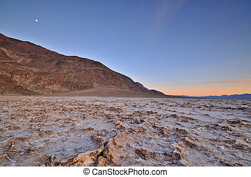 Death Valley - Badwater Basin in Death Valley National Park