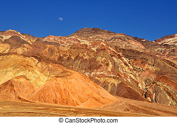 Moonrise over Death Valley, CA