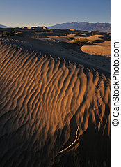 Death Valley - Sand Dunes in Death Valley National Park