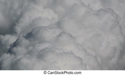 cumulus monsoon clouds fury time la - Cumulus fury monsoon...