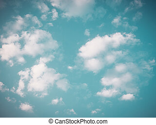 Vintage sky background