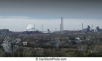 11262 factory pollution ruhr area - Pollution and global...