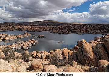 AZ-Prescott-Granite Dells - Watson Lake in the Granite...