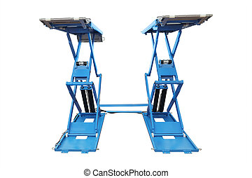 car lift - The image of car lift