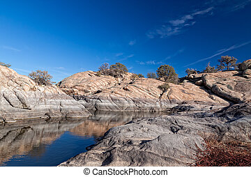 AZ-Prescott-Granite Dells - Watson Lake in the Granite Dells...