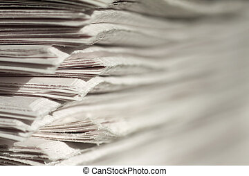 newspapers - pile of newspapers